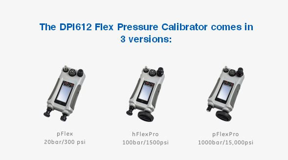 pressure calibrator 3 versions dpi612